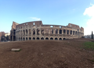 My last run to the Colosseum