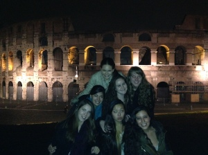 Last night shenanigans at the Colosseum